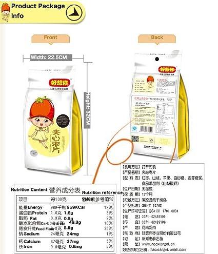 Chino haoxiangni Sandwich Jujube rodajas botanas saludables ...