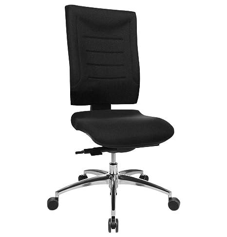 schwarz Mayer Sitzmöbel Spirit Drehstuhl mit Synchron-Mechanik in schwarz