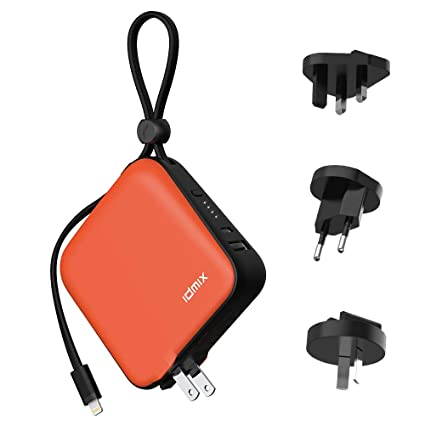 Amazon.com: Power Bank IDMIX Cargador portátil de 10000 mAh ...