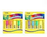 4 pack Mini Highlighters 48 pcs sku# 1916070MA