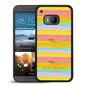 Unique Designed Kate Spade Cover Case For HTC ONE M9 Black Phone Case 111