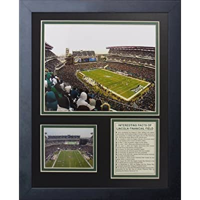 Legends Never Die Philadelphia Eagles Stadium Lincoln Financial Framed Photo Collage, 11 by 14-Inch by Legends Never Die