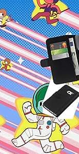 """A-type (Estrella Runners"""") Colorida Impresión Funda Cuero Monedero Caja Bolsa Cubierta Caja Piel Card Slots Para Samsung Galaxy S6 EDGE (NOT S6)"""