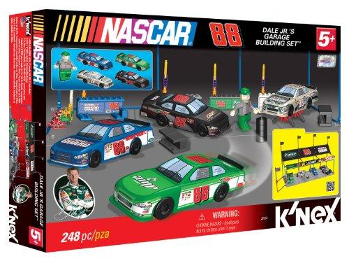 Nascar Dale Jr's Garage Building Set - Knex Race Car