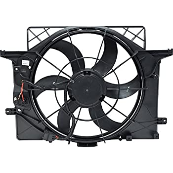 Universal Air Conditioner FA 50259C Engine Cooling Fan Assembly