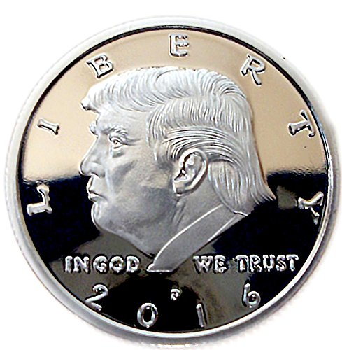 Original Silver Plated Limited Edition Collectable Donald Trump Eagle Coin