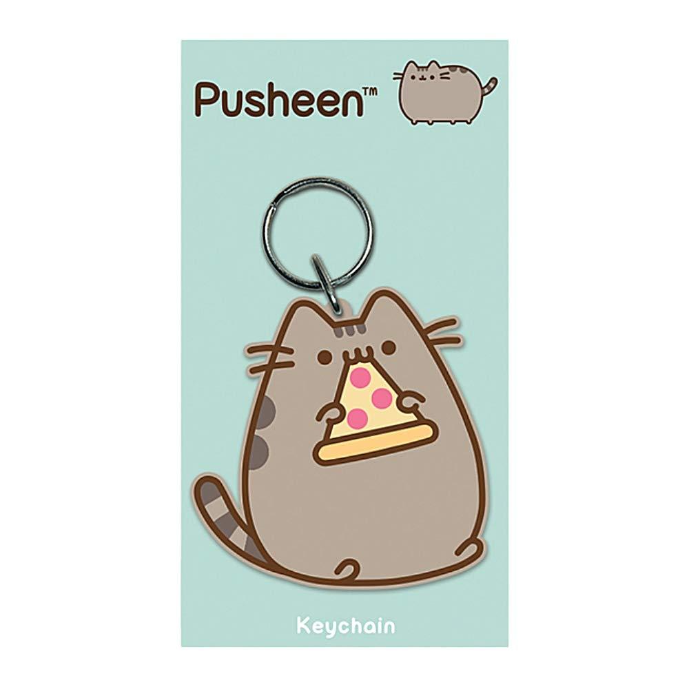 Amazon.com: Llavero de goma Pusheen con diseño de gato: Shoes