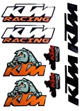 Motopart 8 Piece Multi Design Decal Vinyl Sticker for Universal KTM Duke RC Bike Item_ID-890 With FAST DELIVERY