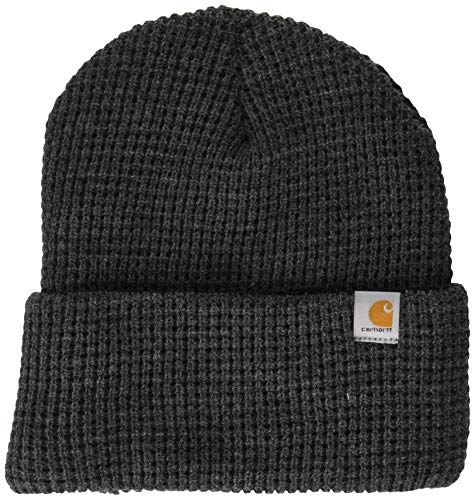 Carhartt Men's Woodside Hat, Coal Heather, One Size