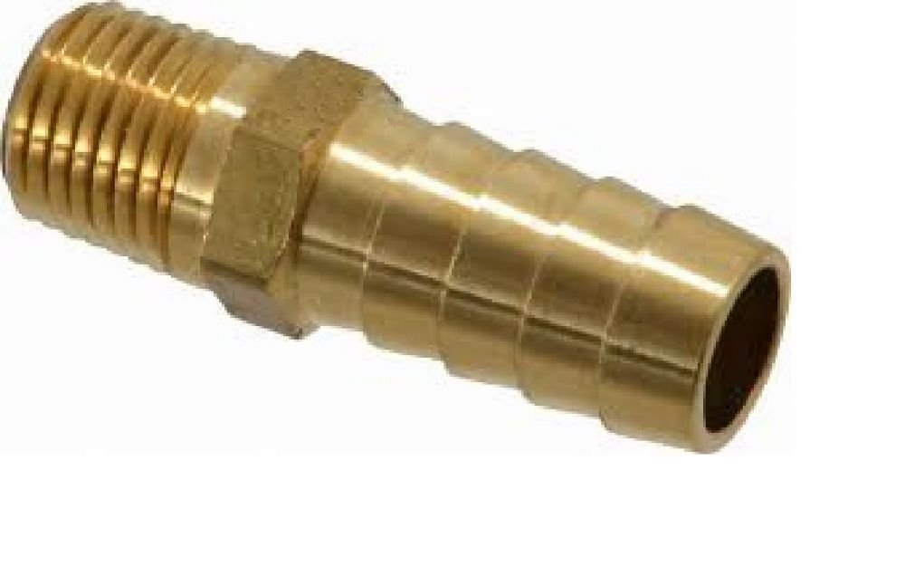 """1/"""" Hose Barb To 1//2/"""" Male NPT Pipe Male Thread High Quality Brass"""