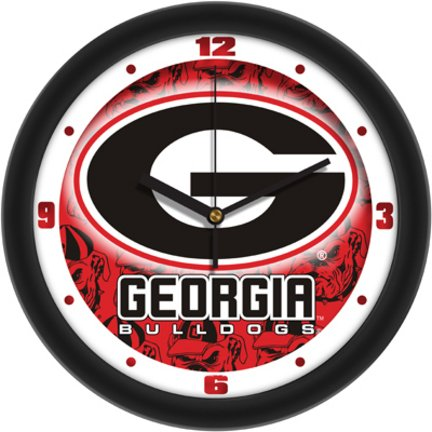 (Georgia Bulldogs UGA NCAA 12In Dimension Wall Clock )