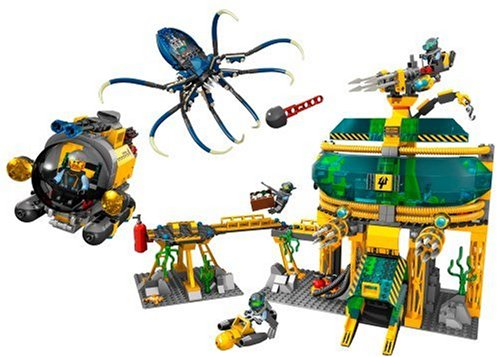 Amazon.com: Lego Aqua Raiders 7775 Aquabase Invasion: Toys & Games