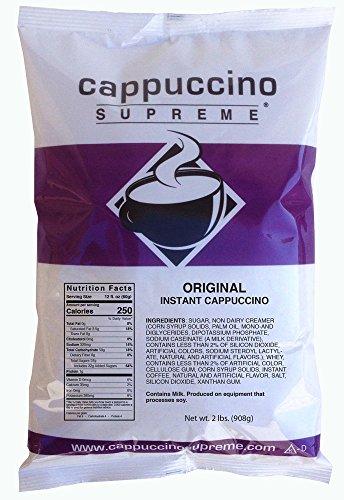 Cappuccino Supreme 2 lb bag Original Instant Cappuccino Mix