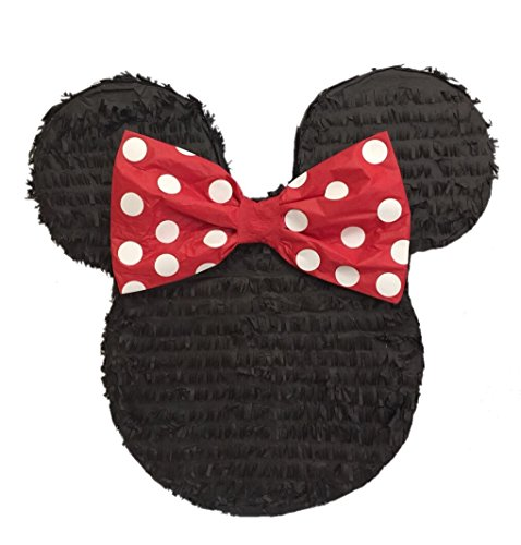 APINATA4U Mouse Ears with Red Bow Pinata 19