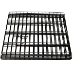 Paws & Pals Dog Exercise Pen Pet Playpens for Dogs - Puppy Playpen Outdoor Back or Front Yard Fence Cage Fencing Doggie Rabbit Cats Playpens Outside Fences with Door - Metal Wire 8-Panel Foldable 12