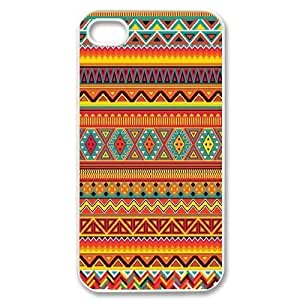 Customized tribal pattern Iphone 4,4S Cover Case, tribal pattern Custom Phone Case for iPhone 4, iPhone 4s at Lzzcase