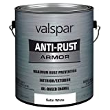 Valspar 21820G Satin White Enamel - 1 Gallon