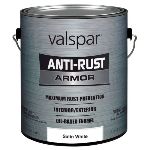 Valspar 21820G Satin White Enamel - 1 Gallon