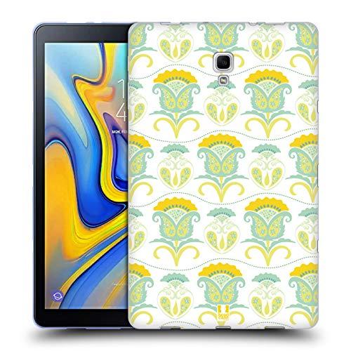 Head Case Designs Floral Daydream Bohemian Patterns Soft Gel Case for Samsung Galaxy Tab A 10.5 ()