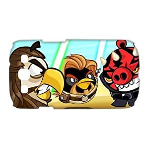 Custom Angry Birds Star Wars SamSung Galaxy S3 I9300/I9308/I939 (3D) Hard Plastic Shell Case Cover(HD image)