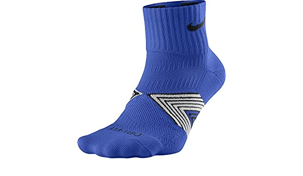 Nike Running Dri Fit Cushioned Calcetines, Hombre, Azul (Hyper Cobalt/Black/Black), L: Amazon.es: Deportes y aire libre