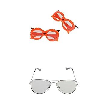 D DOLITY 3 Piezas 3D Gafas pasivas para TV proyector Sony, Samsung ...
