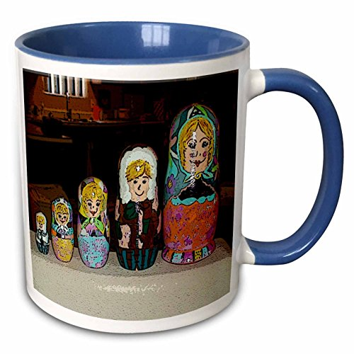 Blue Mug Stacking (3dRose mug_48311_6