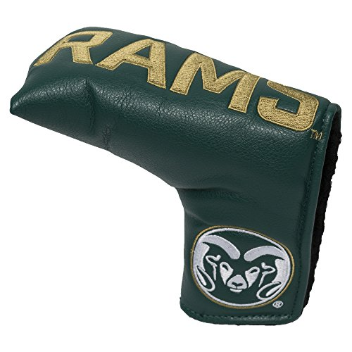 Team Golf NCAA Colorado State Rams Golf Club Vintage Blade Putter Headcover, Form Fitting Design, Fits Scotty Cameron, Taylormade, Odyssey, Titleist, Ping, Callaway Colorado State Rams Golf