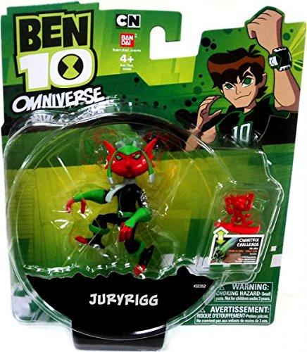 Ben 10 Omniverse 4 Inch Action Figure Juryrigg