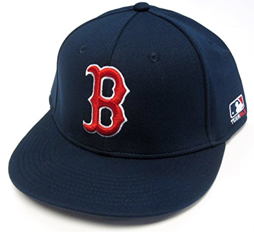 Boston Red Sox MLB OC Sports Proflex Solid Navy Hat Cap B Logo Adult Men s  Flex 3040ac0242bd