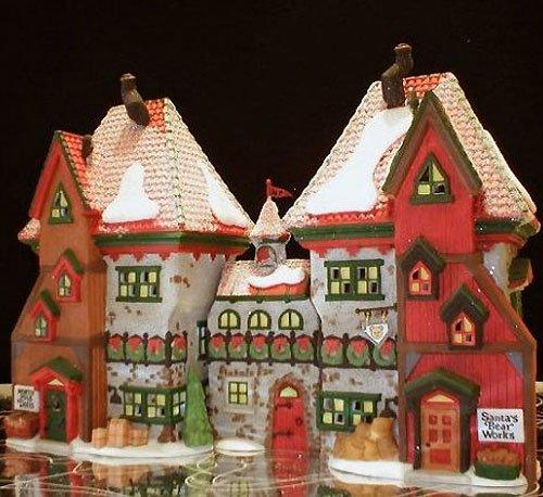 Department 56 North Pole Village North Pole Dolls & Santa's Bear Works