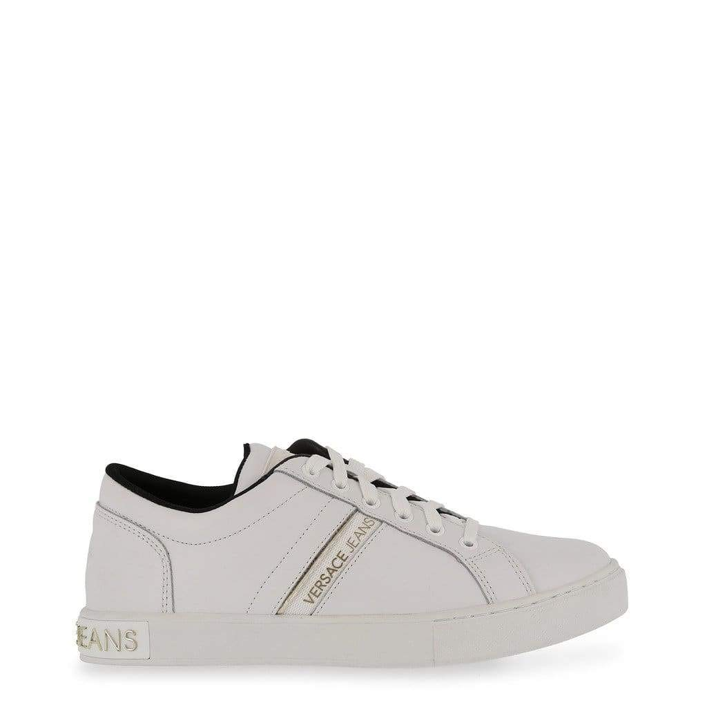 Amazon.com: Versace Jeans Women White Sneakers: Shoes