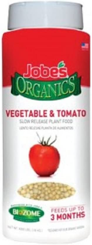 Jobe's 09086 Organics Plant Food For Vegetable & Tomato, 1 Lb