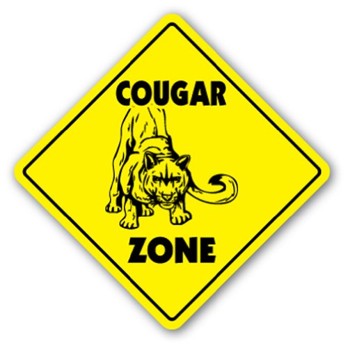 COUGAR CROSSING Sign novelty hunter product image