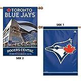 "Toronto Blue Jays MLB Vertical Flag 2 Sided 28"" X 40"""