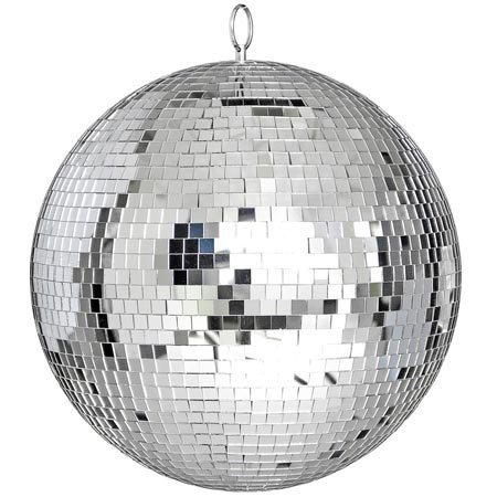 """12"""" Mirror Disco Ball Great for a Party or Dj Light Effect"""