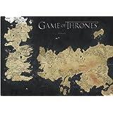 Pyramid International de Juego de Tronos mapa de Westeros y Essos gigante de póster, papel, muticolour, 10x 140x 1,3cm