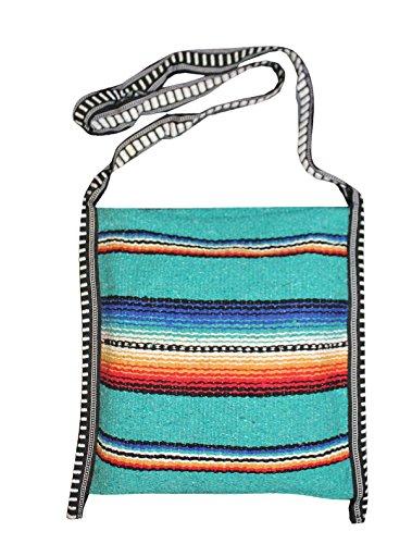 Mexican Style Falsa Blanket Tote Bag Messenger (Boutique Purse Bag)