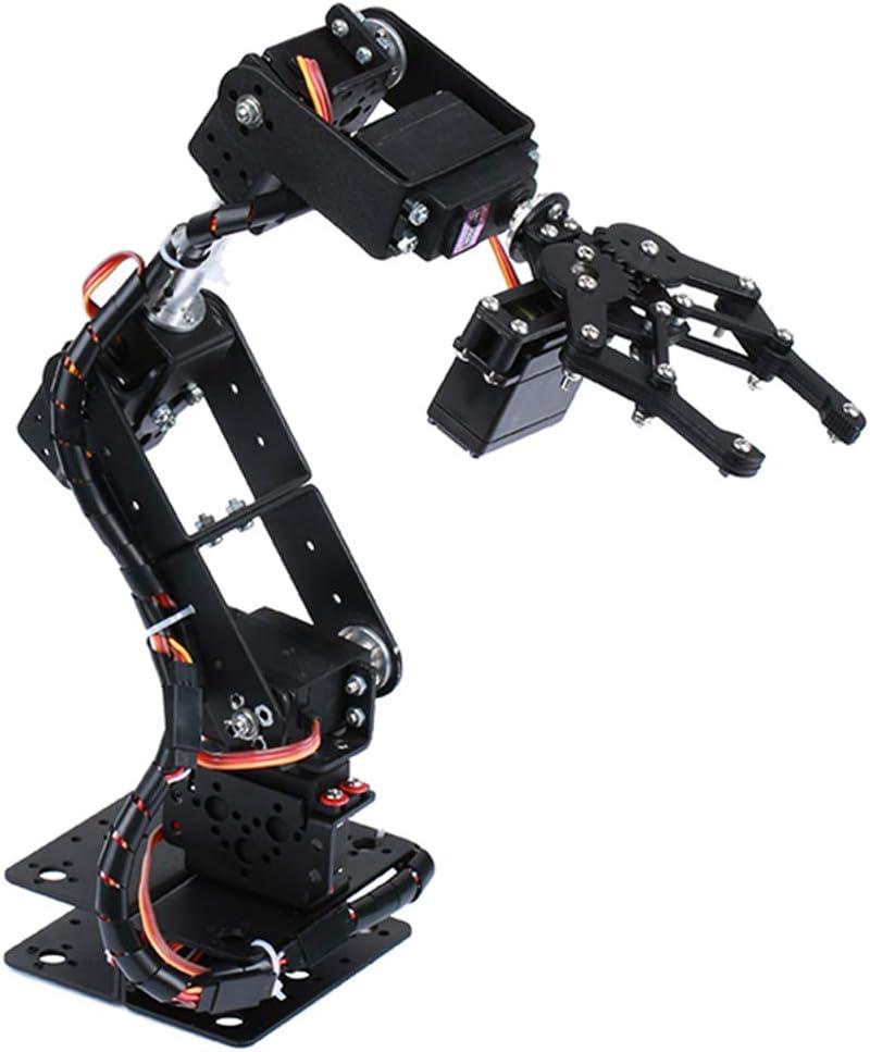 D DOLITY Robot Robot 6-dof Robot Servo Bras M/écanique pour Kits dapprentissage Robotique