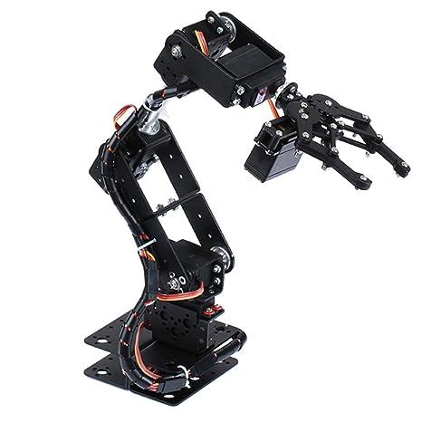 Buy Deluxe DIY 6 Degree of Freedom Robotic Arm Circuit Kits