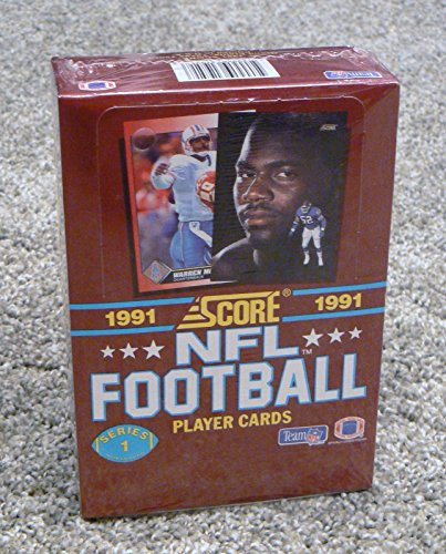 Score Series 1 Football - 1991 Score NFL Football Series 1 Player Cards Unopened Box