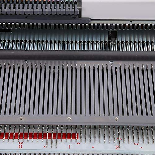 Knitting Machine 4.5mm Standard Gauge Plastic Domestic Knit Machine for Silver Reed SRP50 SRP60 SRP60N by ZJchao (Image #6)
