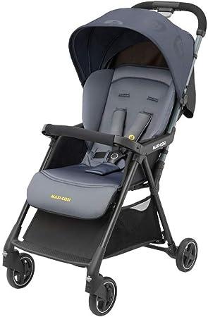 Oferta amazon: Maxi-Cosi Diza Silla Paseo bebé, cochecito compacto y ligero, pesa 4.2 kg, reclinable y plegable con una sola mano, color brave graphite