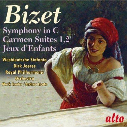 Bizet: Symphony in C; Carmen Suites 1 & 2; Jeux d'Enfants (Petite Suite)