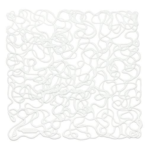 Koziol 2036525 Fusion Room Divider Ornament (Set of 4), Cotton White