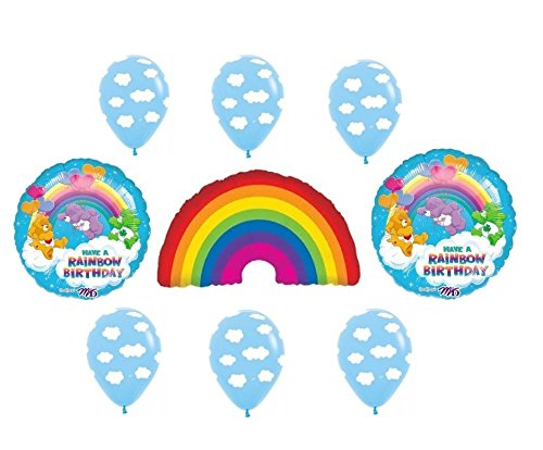 Care Bears Happy Birthday Party Balloon Decoration