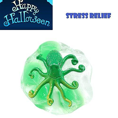 Ulanda 2018 Newest Slime, Halloween Octopus Putty Fluffy