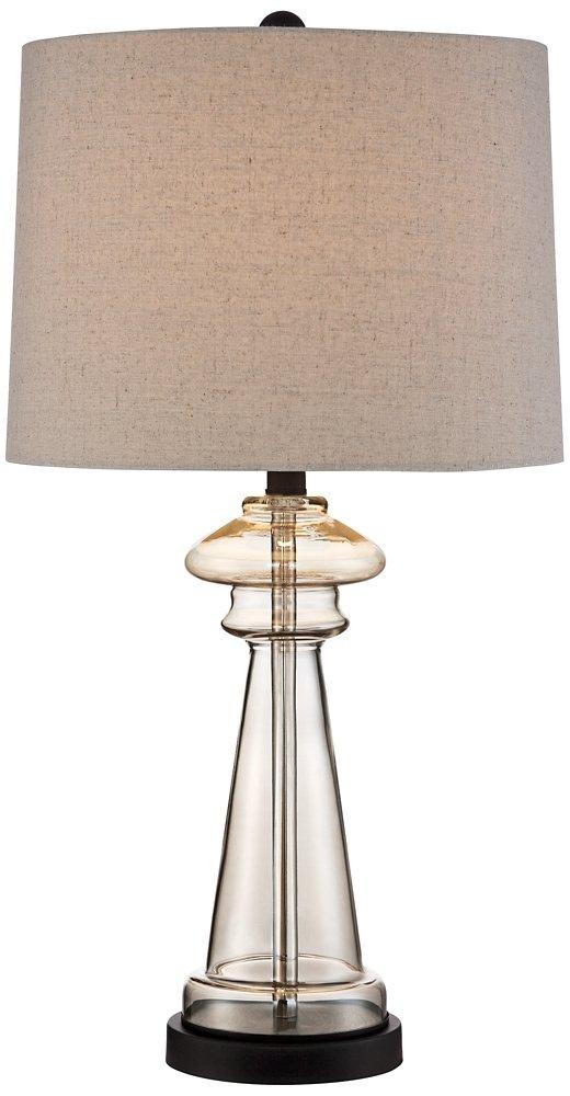 Dalia champagne glass table lamp set of 2 amazon aloadofball Image collections
