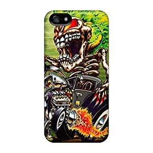 New Diy Design Monster For Iphone 5/5s Cases Comfortable For Lovers And Friends For Christmas Gifts