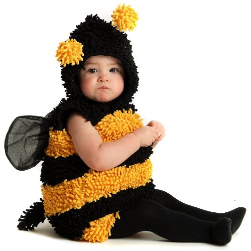 Princess Paradise Baby's Stinger The Bee Deluxe Costume, As Shown, 6 to 12 months (Infant Bumble Bee Costume)